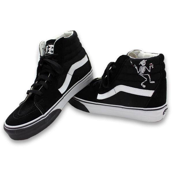 057664791c Social Distortion - Custom Vans Shoes