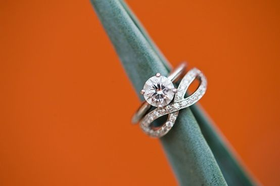 Infinity ring for your wedding band.