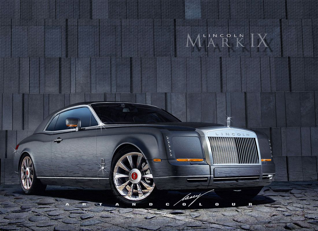 2016 Lincoln Continental Mark IX coupe concept | Conceptual design ...