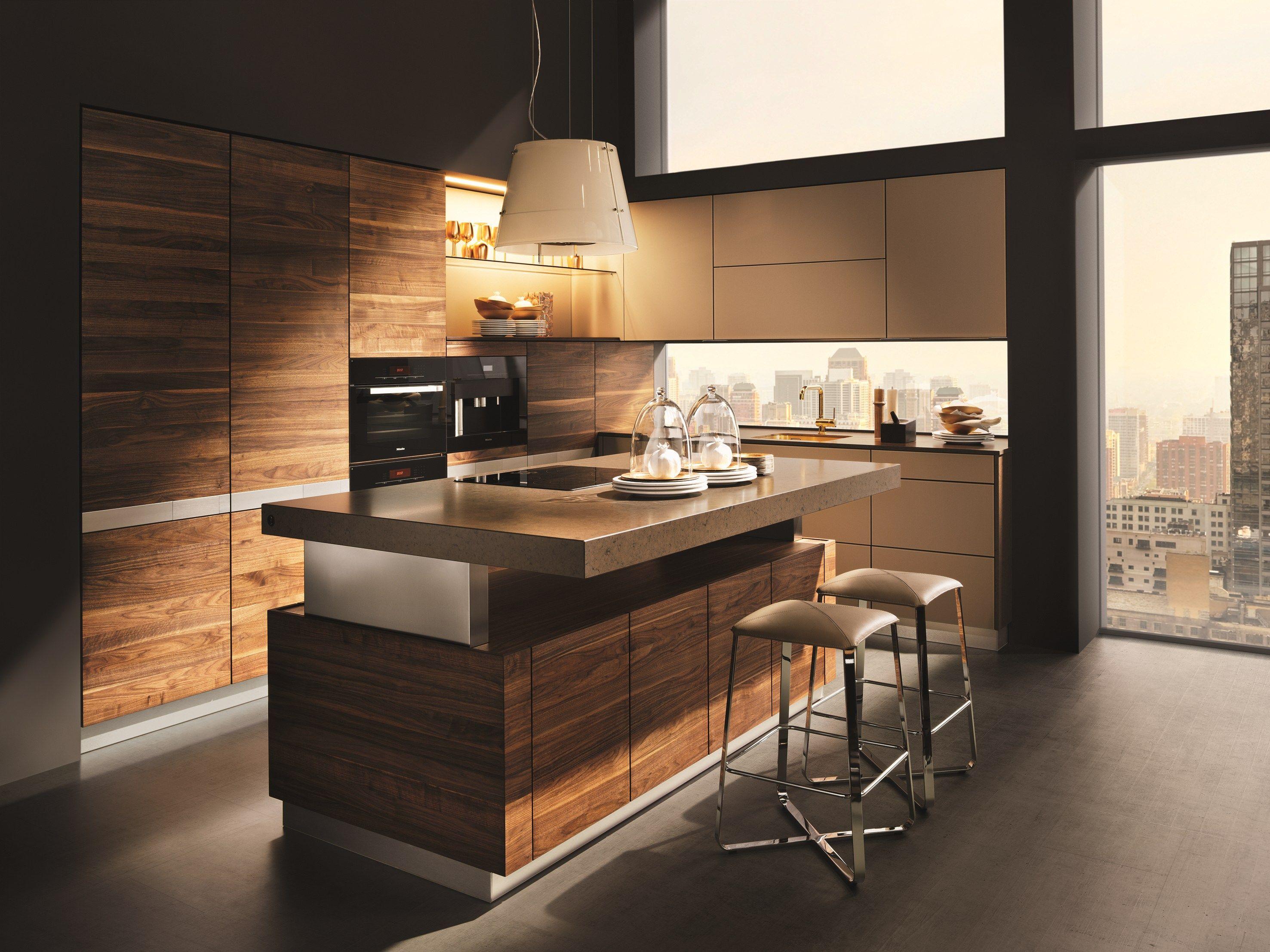 Cozinha De Madeira Com Ilha K7 By TEAM 7 Natürlich Wohnen | Design Kai  Stania