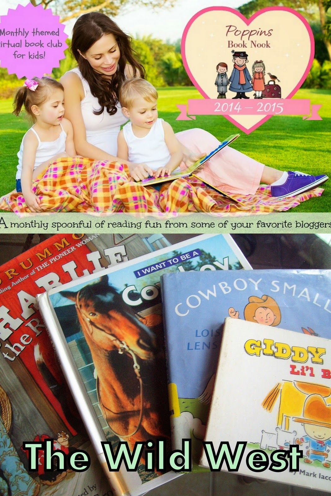 The Wild West September Poppins Book Nook Introduction