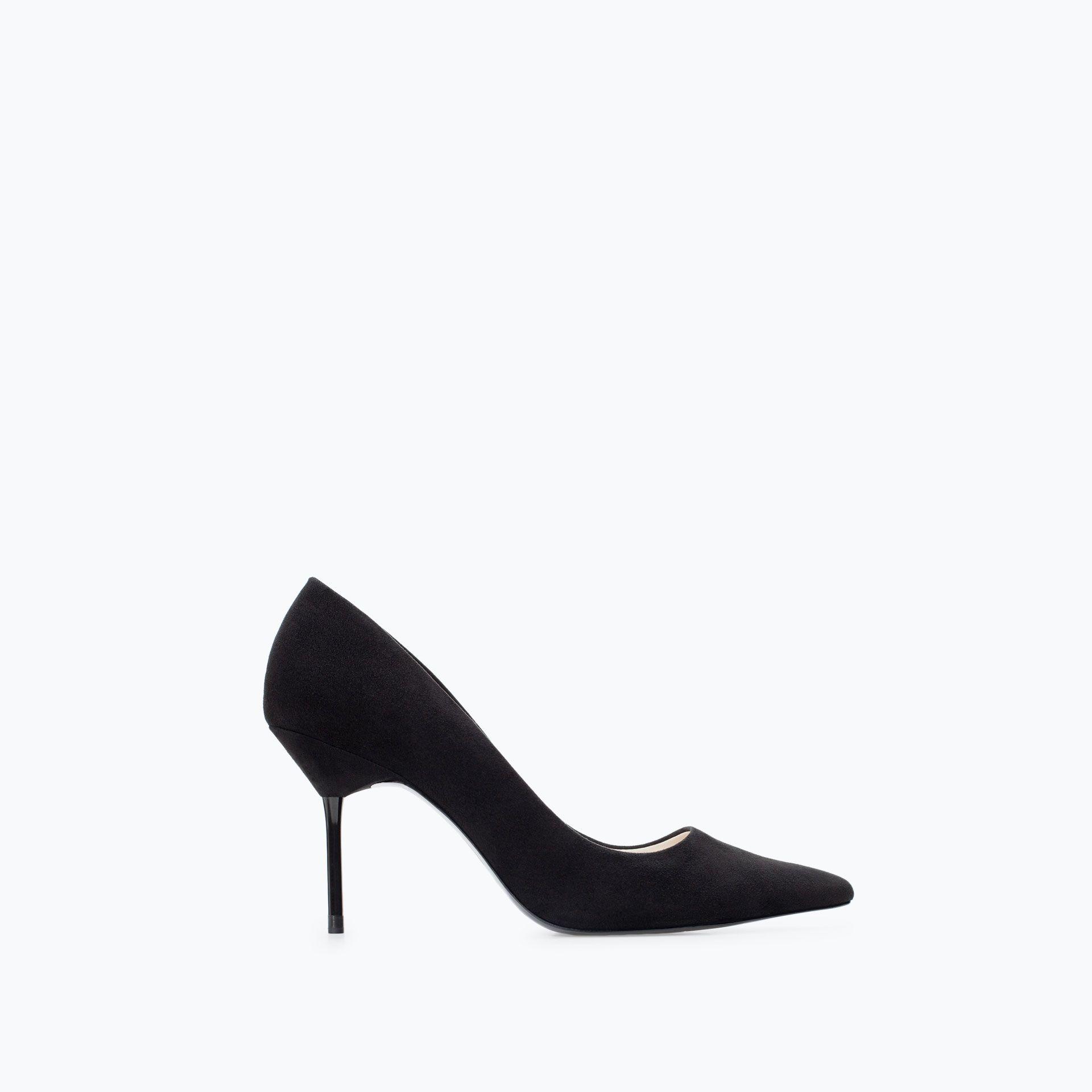Chaussures femmes Escarpins cuir Talon haut noir OL58ti