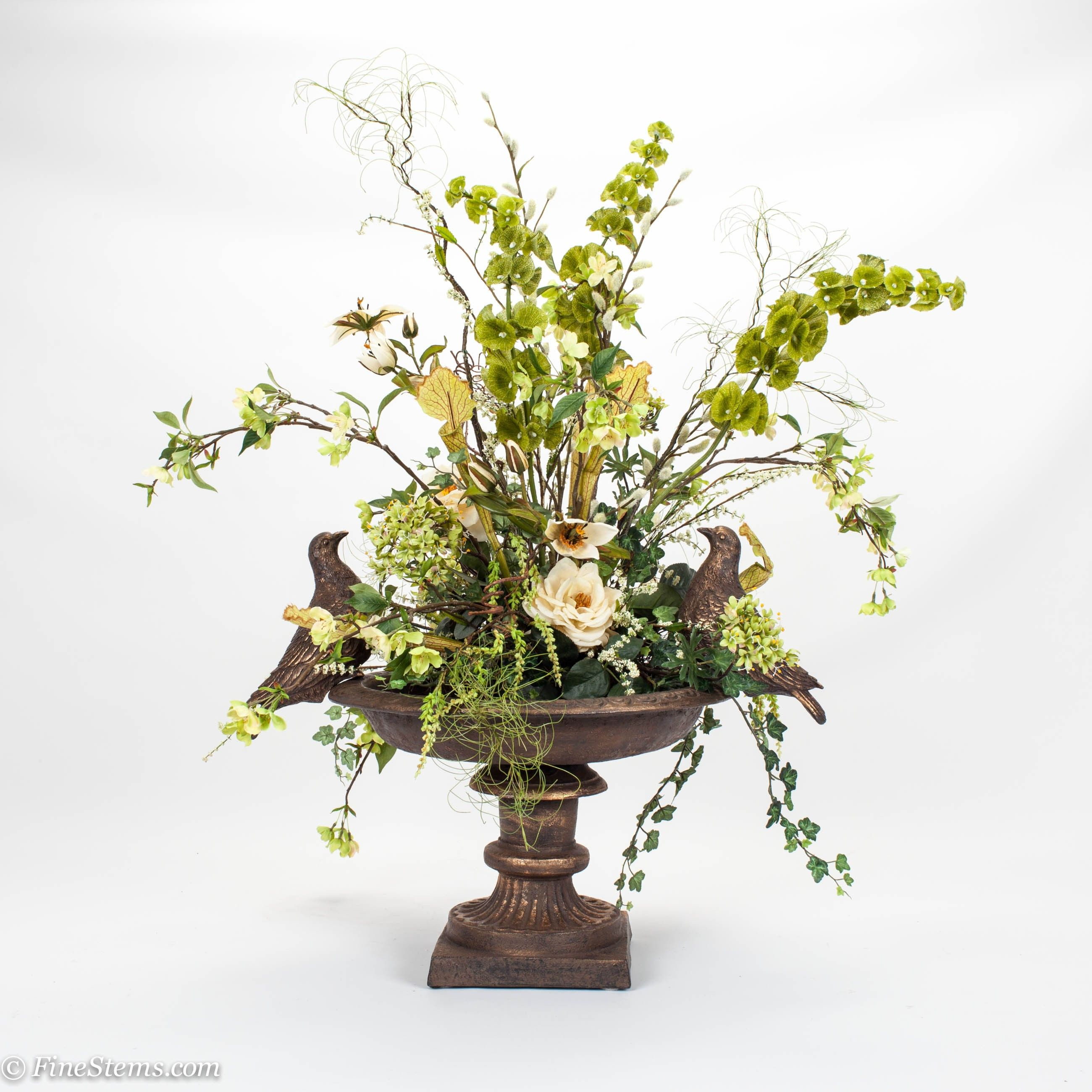 Best Faux Floral Arrangements For Home Decoration: Decorating Spring ...
