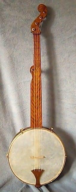 Bell Boucher Single Ogee Minstrel Banjo Open Back Clawhammer