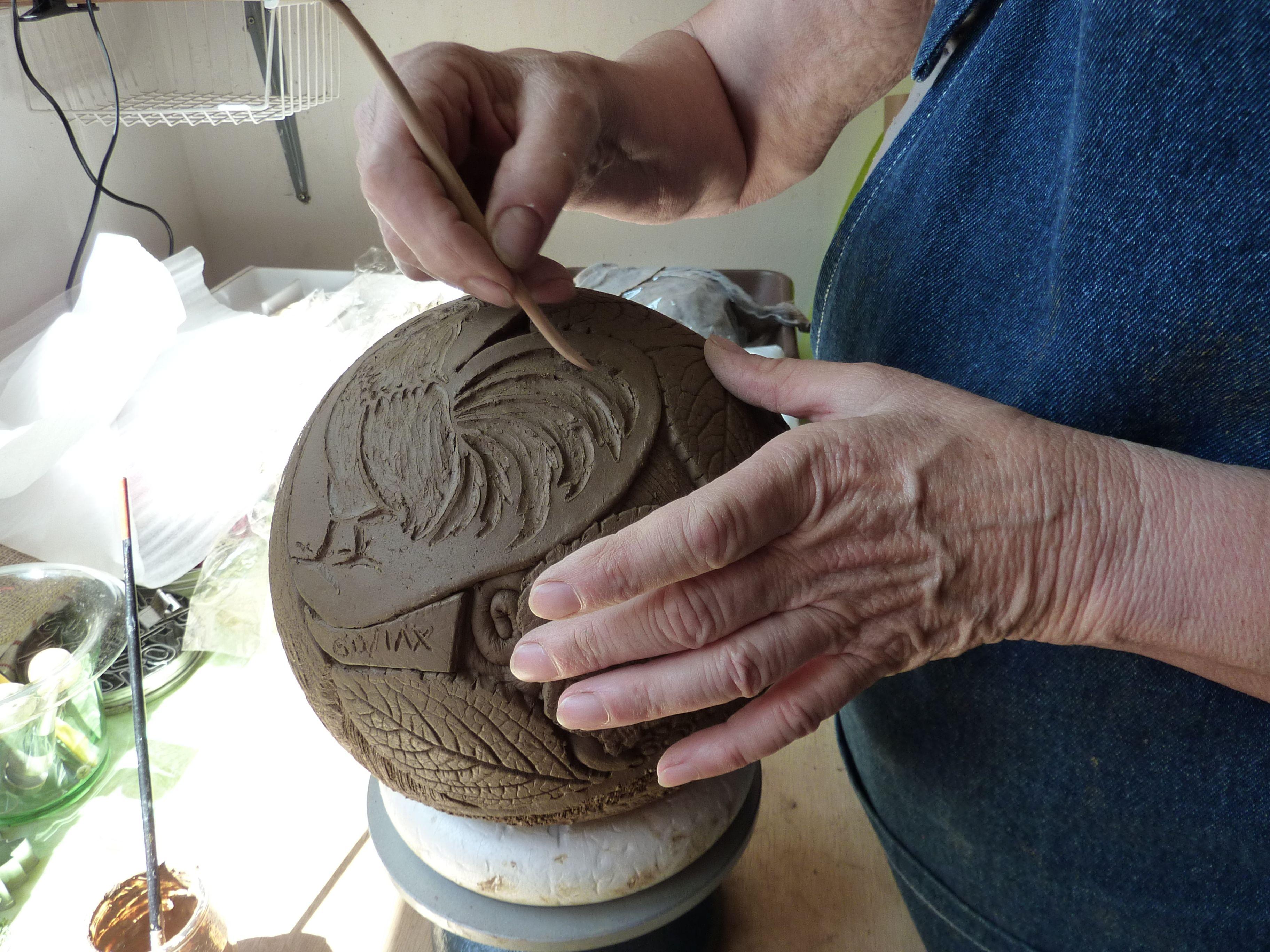 poterie artisanale photo pinterest poterie. Black Bedroom Furniture Sets. Home Design Ideas