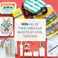Win Back to School Goodies With Facebook