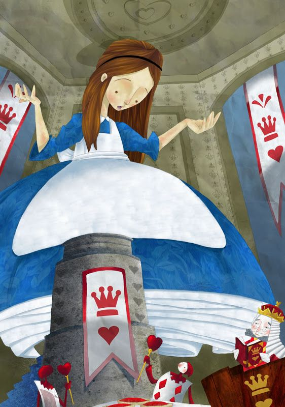 """Alexandre Rampazo «Alice in Wonderland» 