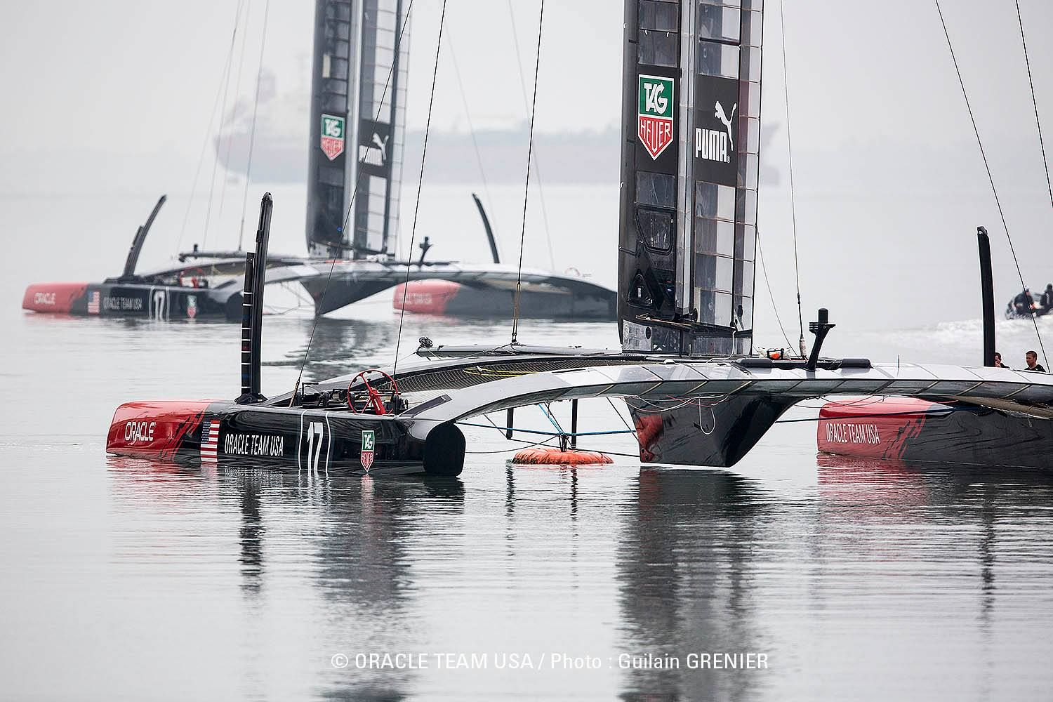 Ac 72 Oracle In Waiting Wind And Sea Boat