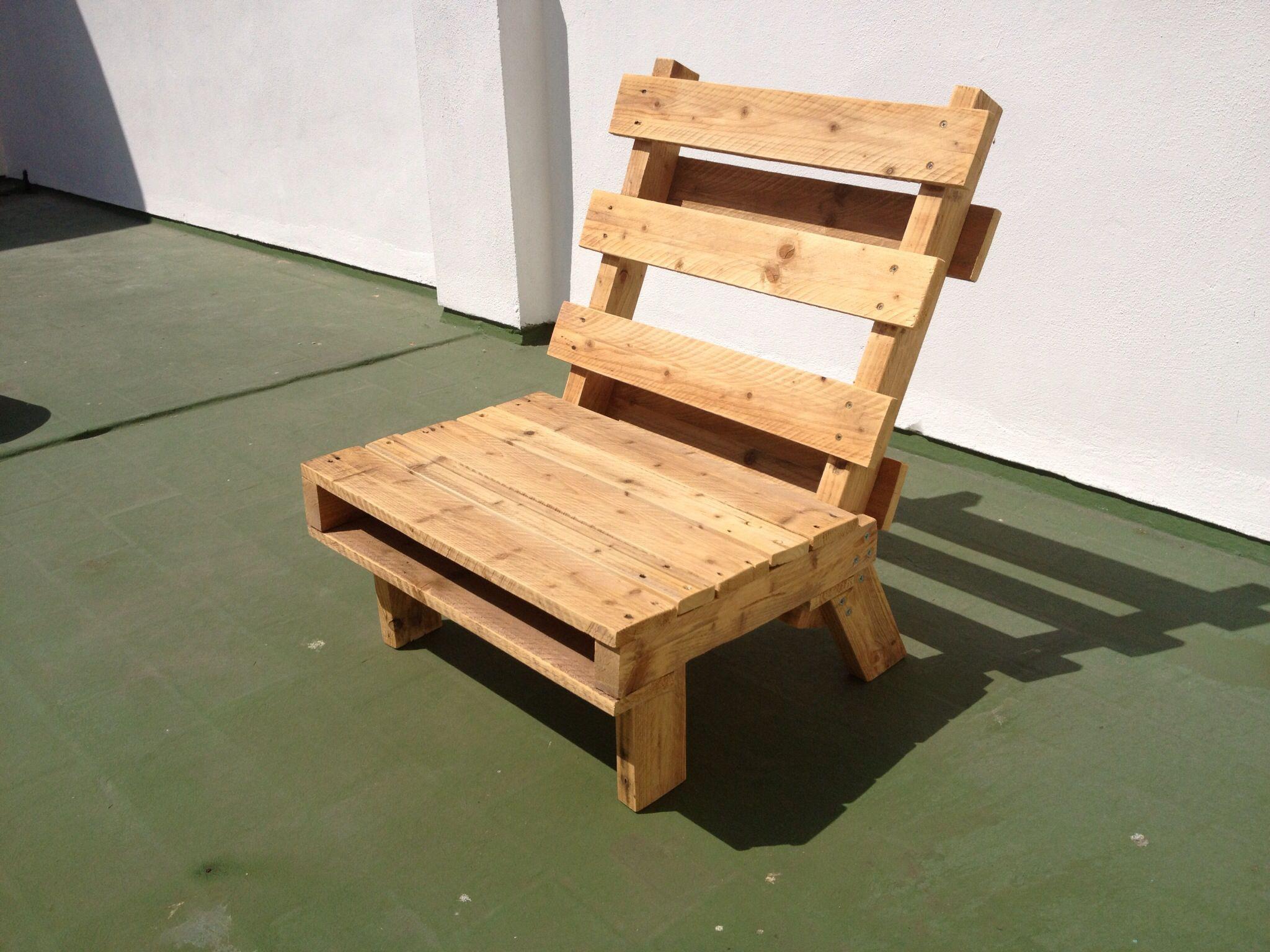 Sillas Hechas De Palets Stunning Muebles Con Madera Reciclada De