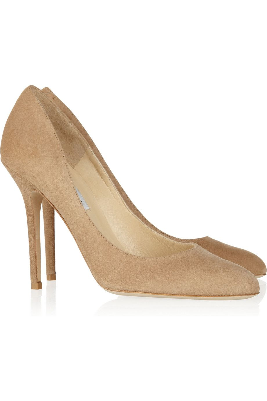 Neutral Lovely suede pumps   Jimmy Choo