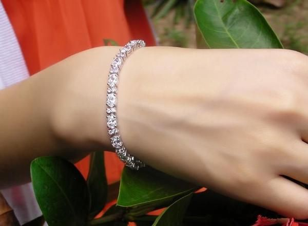 Bracelet Luxury 6 Carat Diamond Bracelet 10 Carat Diamond Tennis Bracelet 5 Carat Di Bracelets Gold Diamond Gold Necklace Designs Womens Jewelry Bracelets