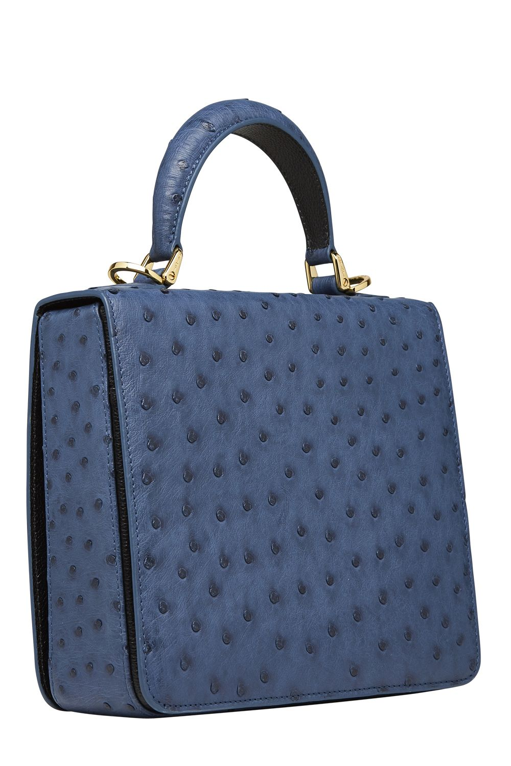 15d659d81d79 Blue ostrich handbag exclusively from Shari s Place Classics ...
