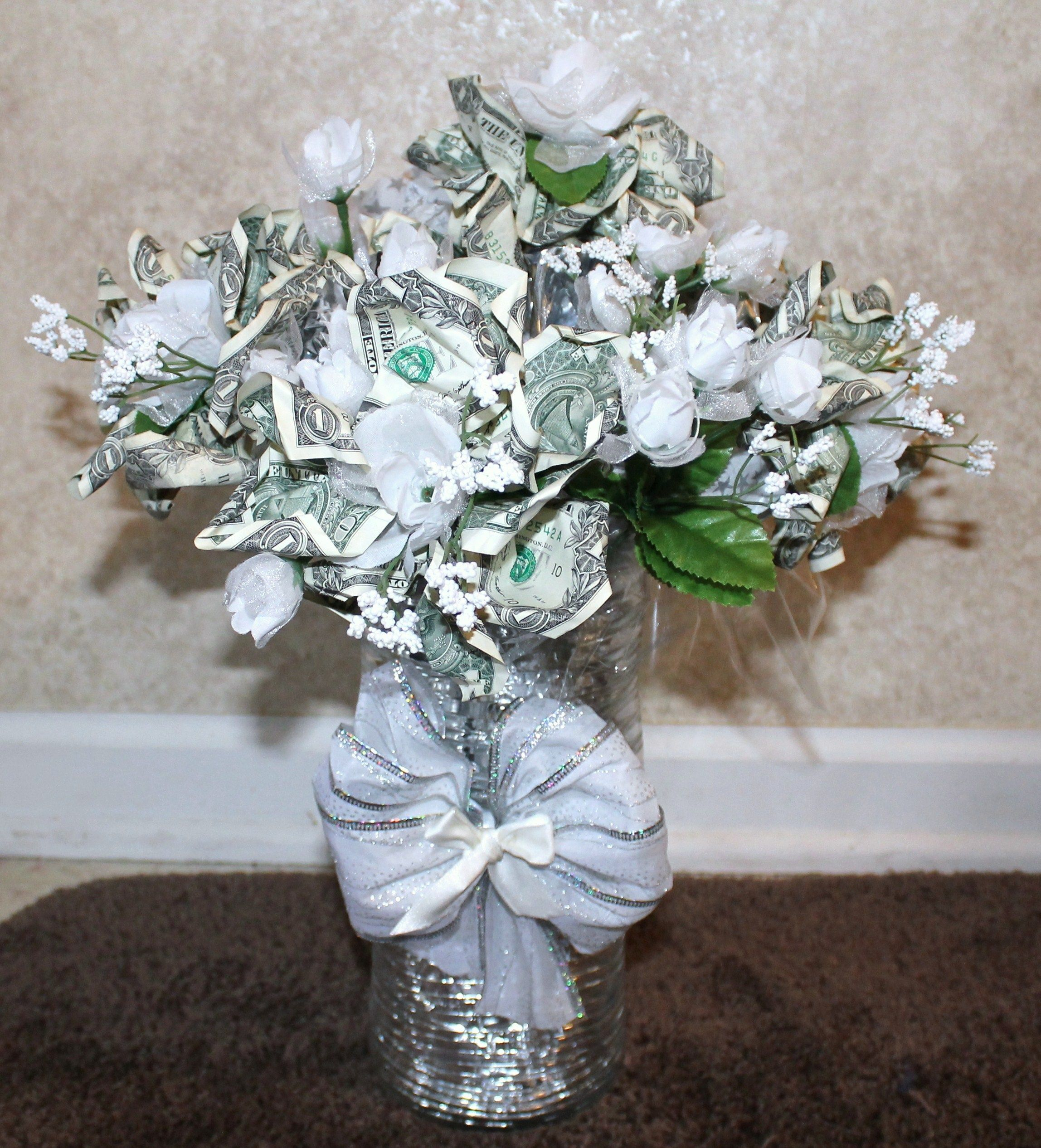 Money flower bouquet birthday cards pinterest
