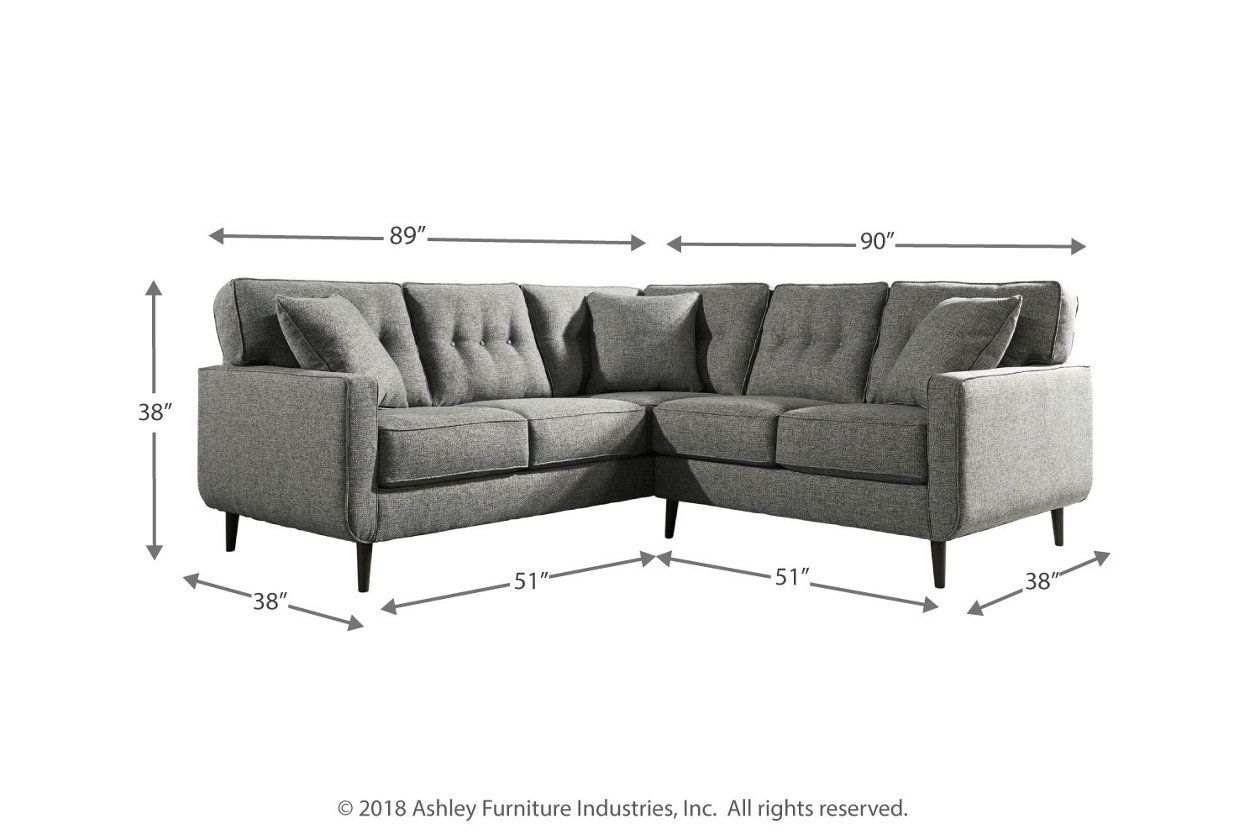 Zardoni 2 Piece Sectional Ashley Furniture Homestore