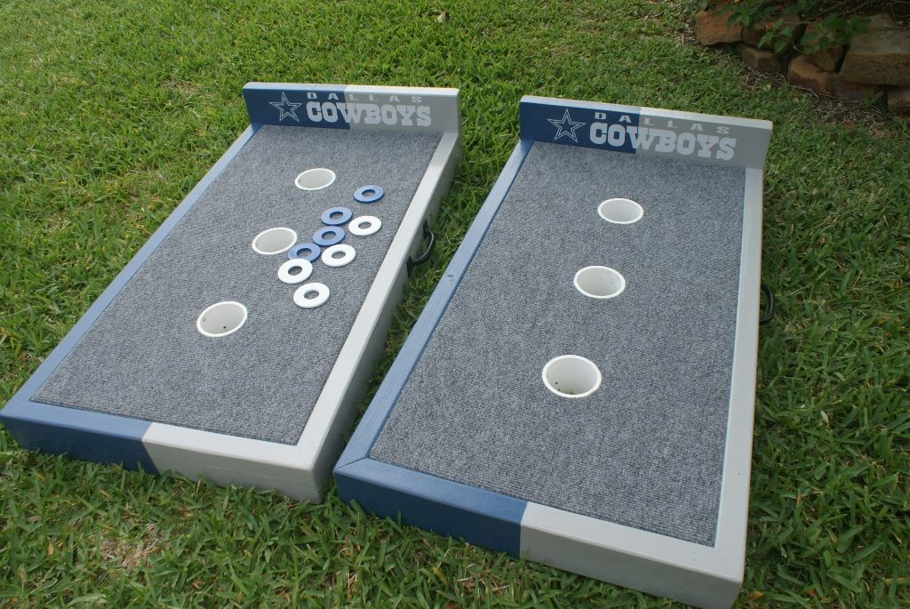 Dallas Cowboys washer boards Washer boards, Washer toss