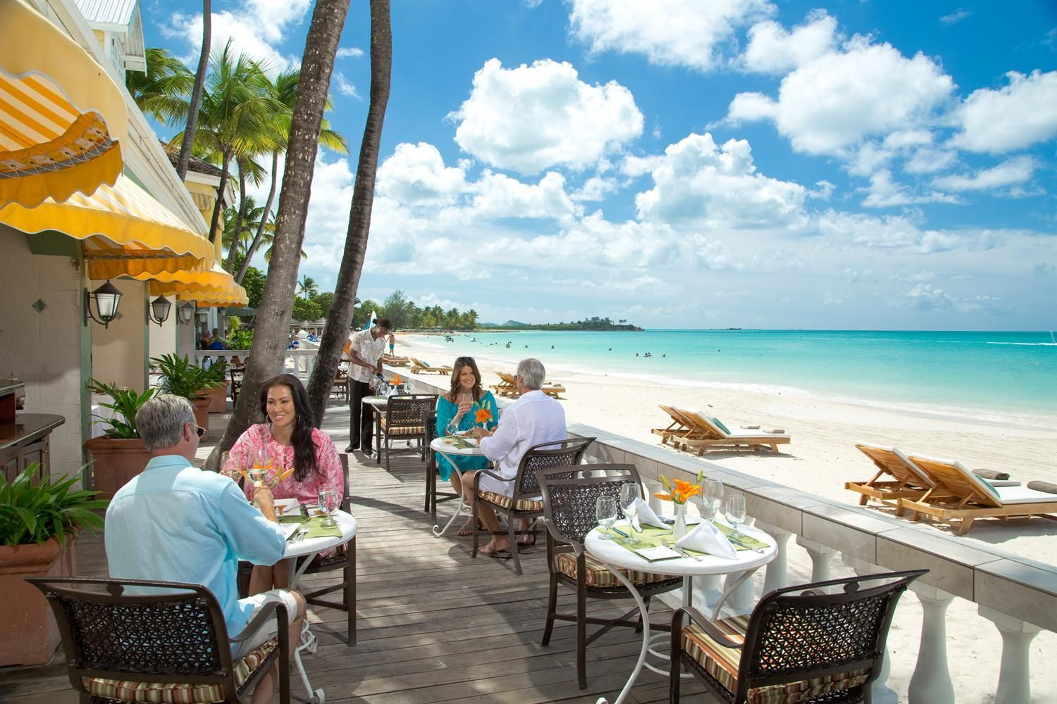 Bayside Restaurant All inclusive beach resorts