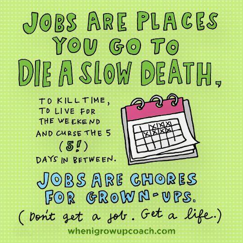 Reality suck job
