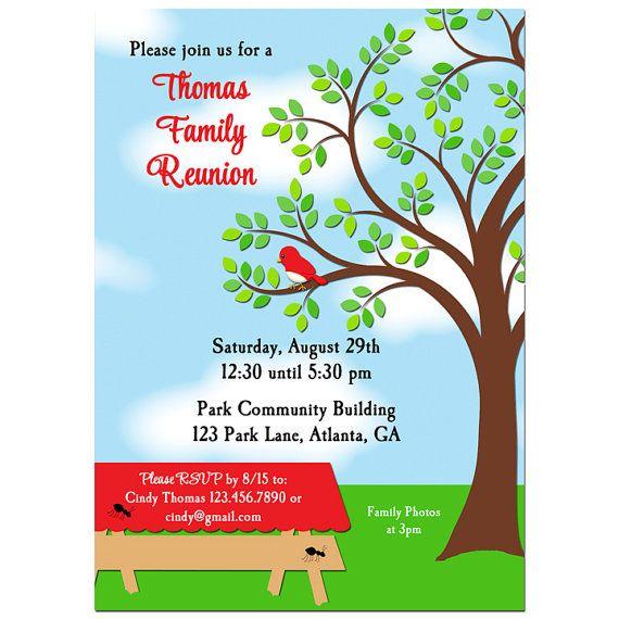 Family Reunion Theme Templates