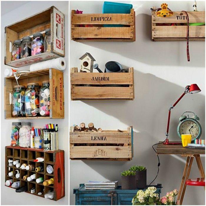 möbel aus weinkisten deko ideen diy ideen nachhaltig leben, Hause deko
