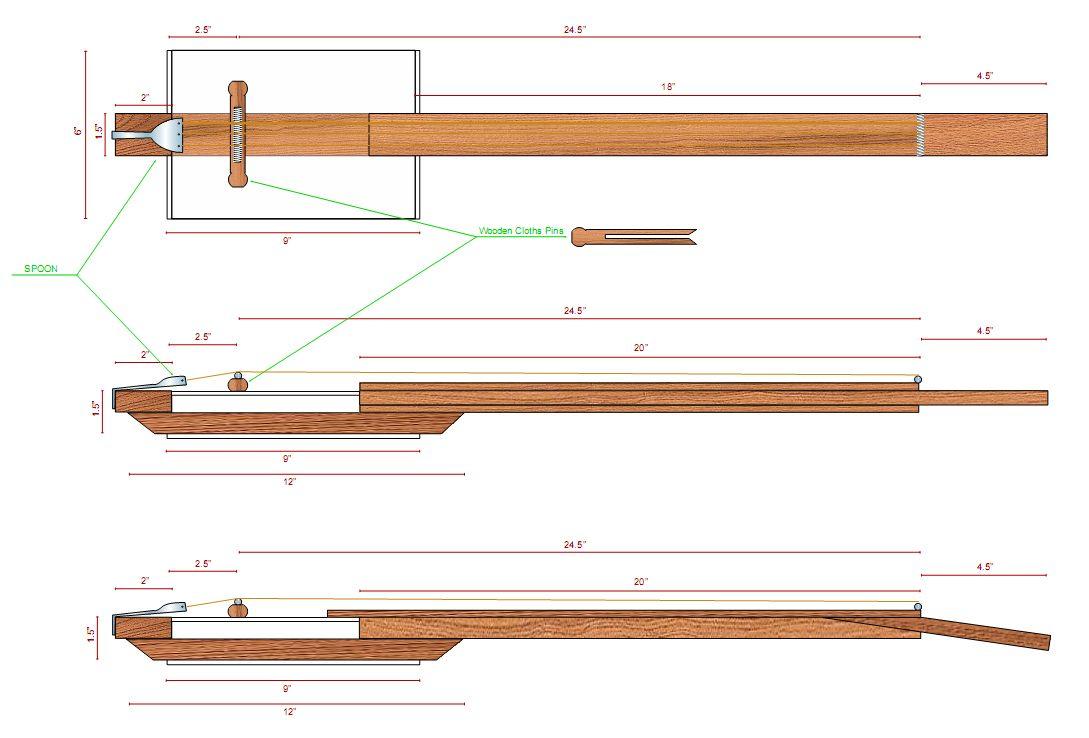 4 string cigar box resonator guitar neck google search cigar box guitars pinterest. Black Bedroom Furniture Sets. Home Design Ideas