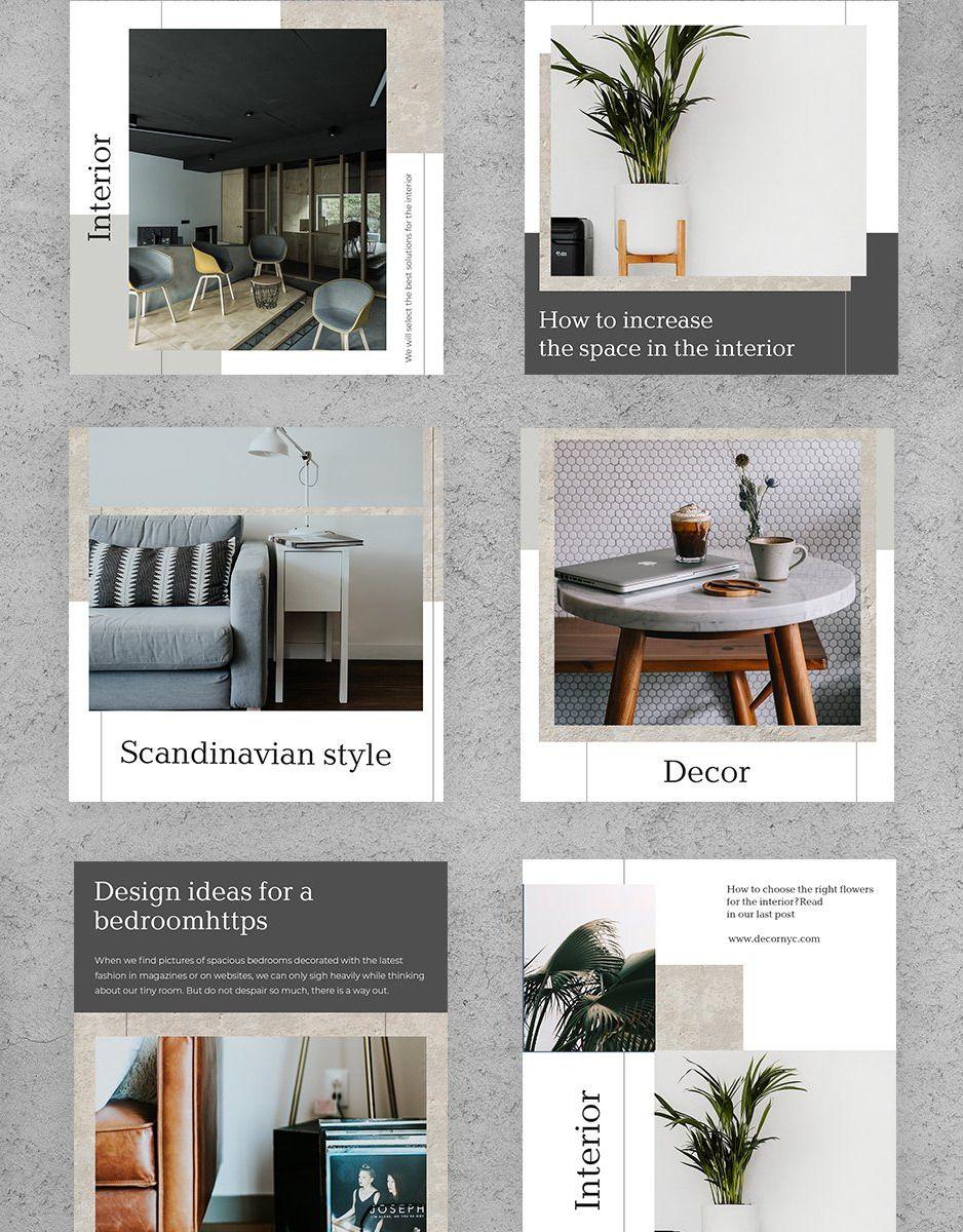 Interior Social Media Template Interior Design Instagram Instagram Template Design Interior,Fractal Design Define R4 Hdd Cage