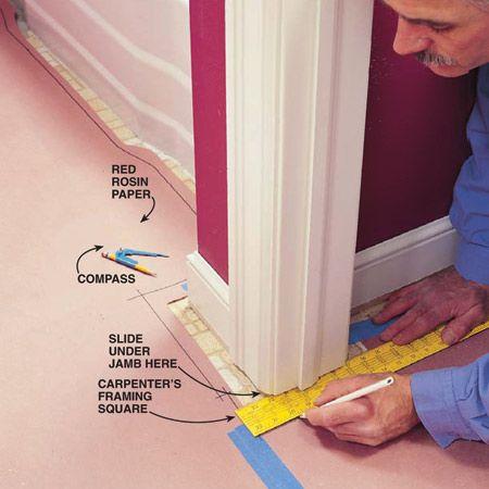 how to lay vinyl flooring