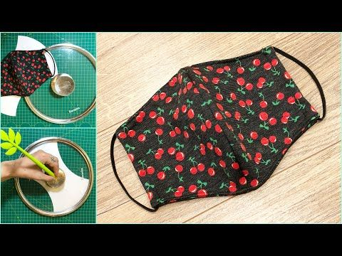 Photo of Making masks easy with pot/pan lid cover #1 | Face mask sewing tutorial | Face mask DIY