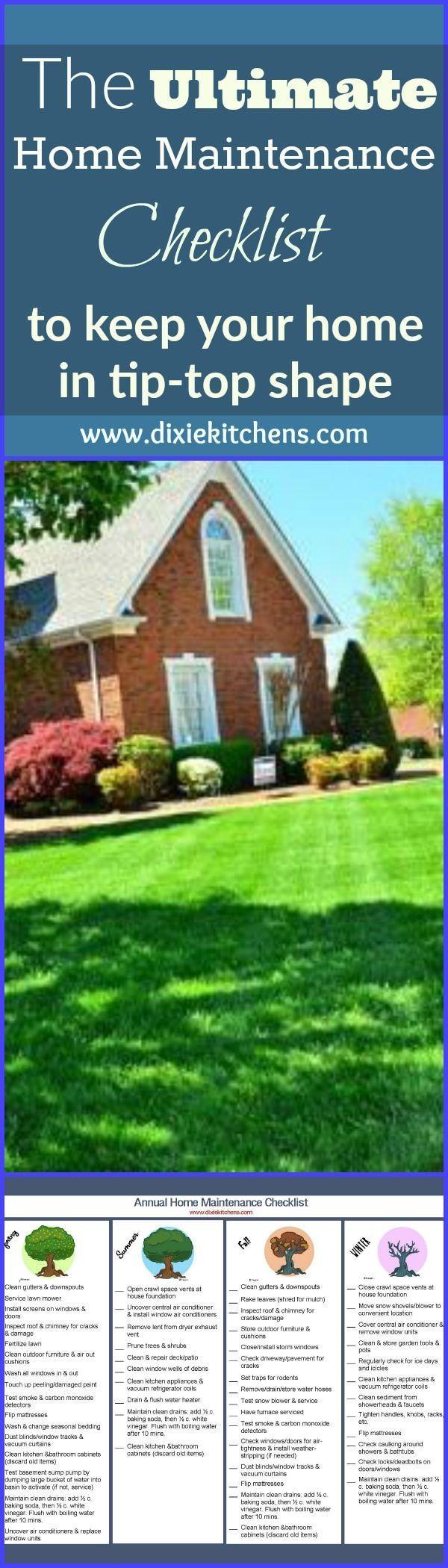 Photo of Die ultimative Checkliste für die jährliche Wartung Ihres Hauses
