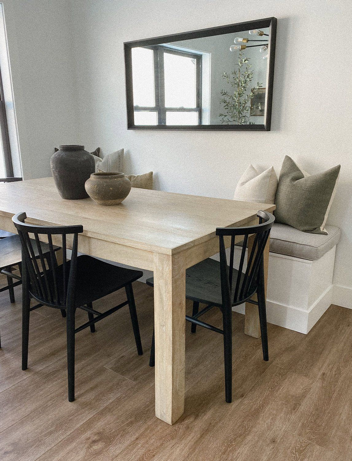 Toy Box Dining Room Built-In Bench