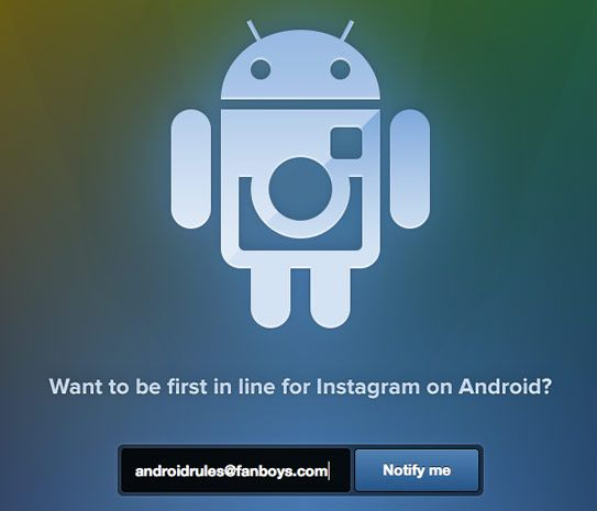 Instagram Opens Signup Page For Android Port Release Date Still