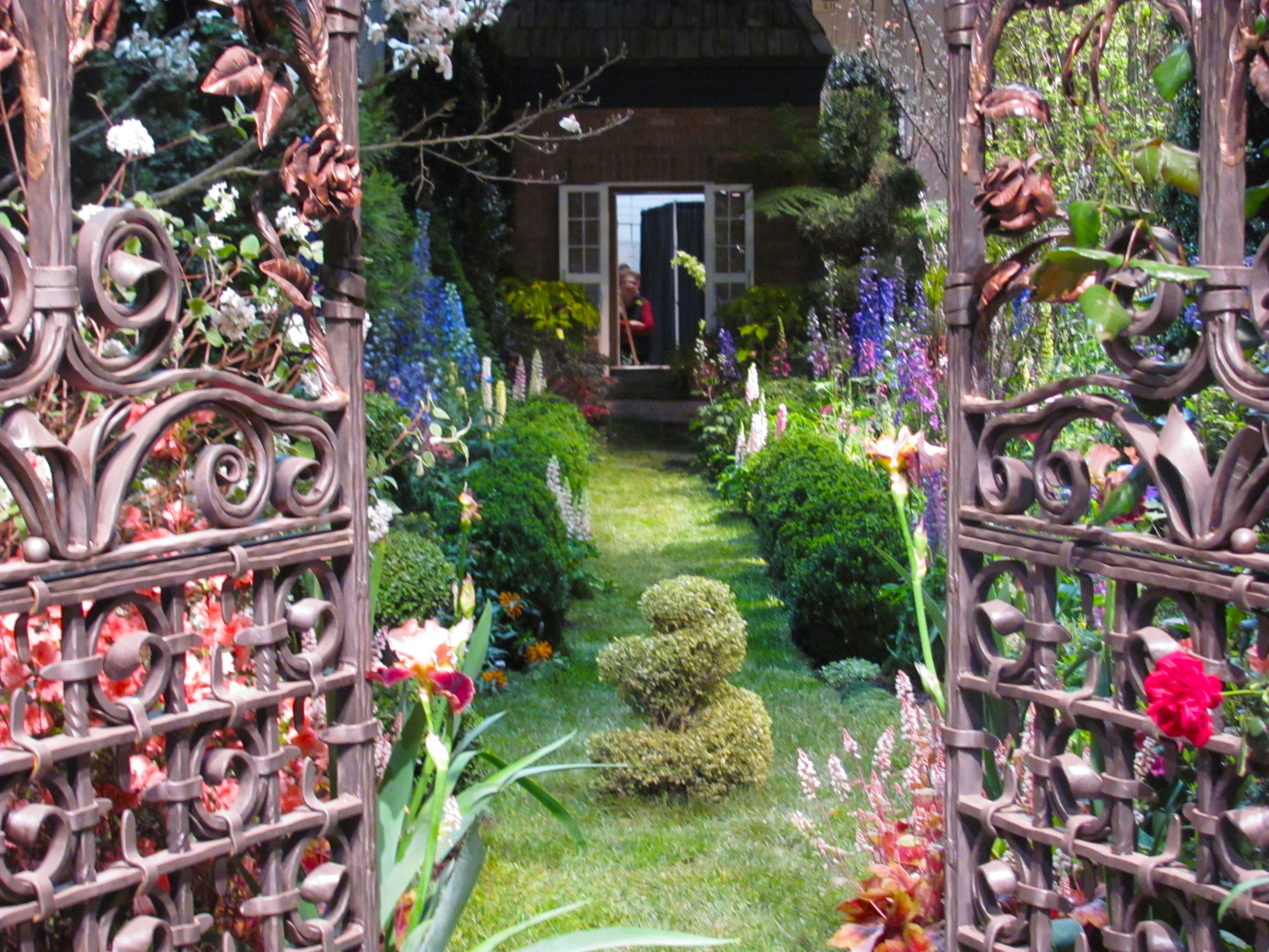 2013 Philadelphia Flower Show. Secret Garden. Where & When