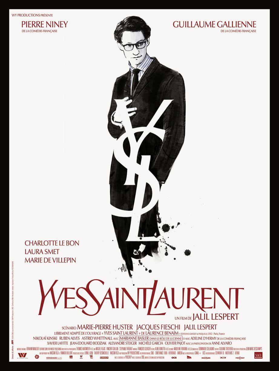 Yves Saint Laurent - Poster  29ef1638bdd