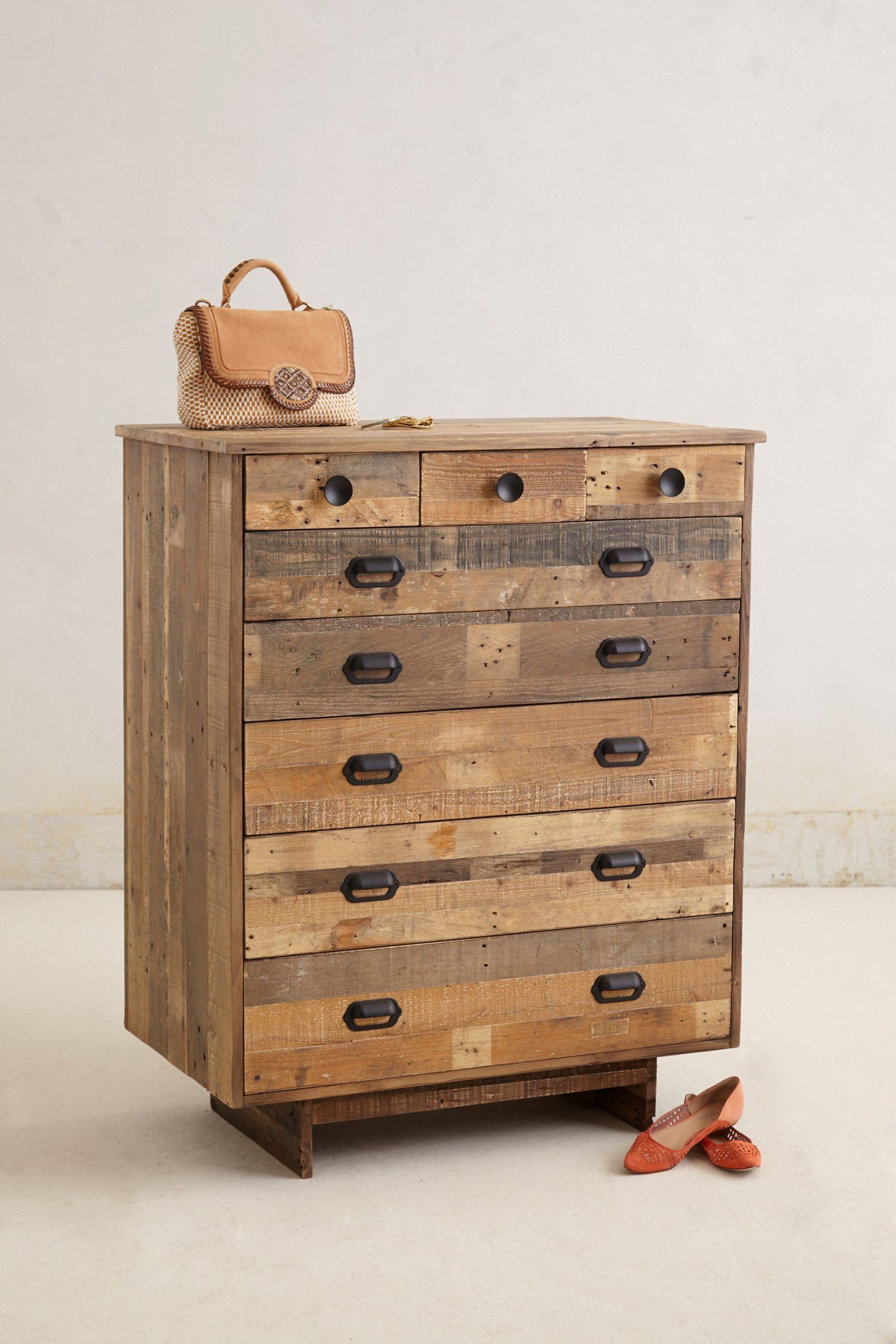 Handcrafted Marpole Dresser Could Make A Similar With Pallet Wood Or Old