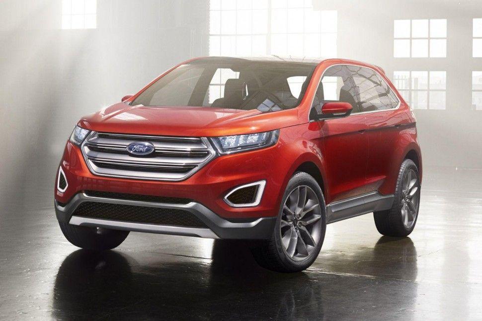 2013 La Auto Show Ford Edge New Ford Edge Ford Ecosport