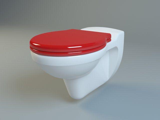 3D Model Keramag Kind Washdown WC C4d, Obj, 3ds, Fbx · Badezimmer3d Modelle MöbelKind