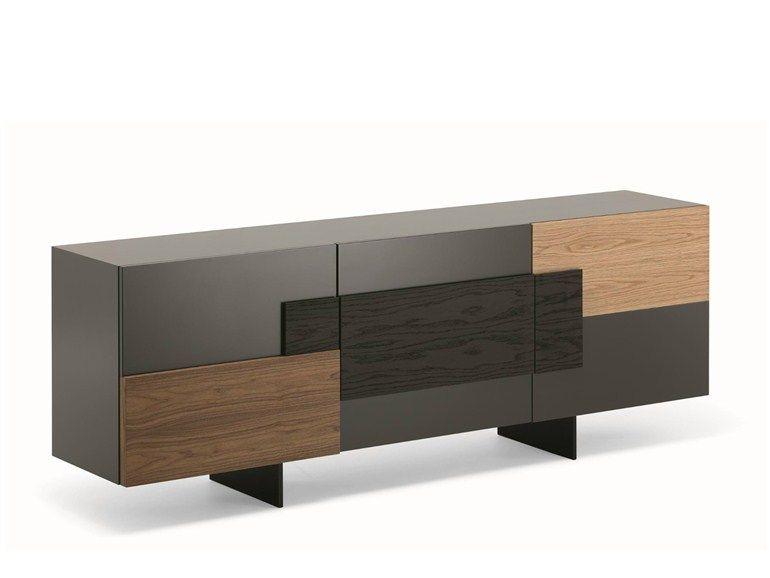 sideboard mit fl gelt ren torino cattelan italia design m bel m bel furniture und esszimmer. Black Bedroom Furniture Sets. Home Design Ideas
