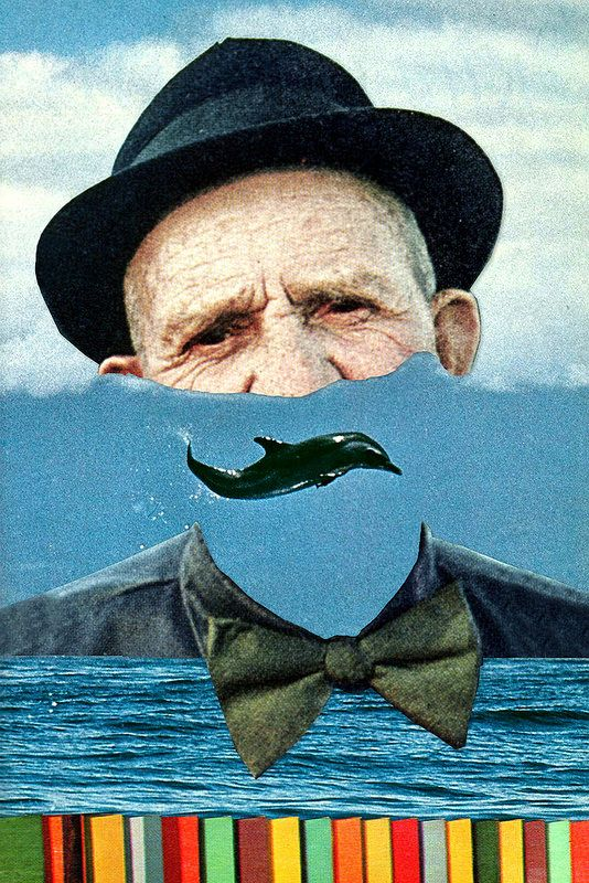 The Droplet that Return to the Ocean by Eugenia Loli Collage artist and filmmaker.