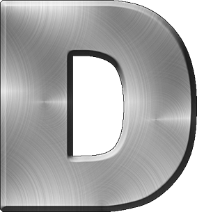 A To Z Alphabets Png Transparent Images Png All Metal Letters Alphabet Lettering