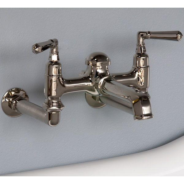 Art Deco Wall Mount Tub Faucet