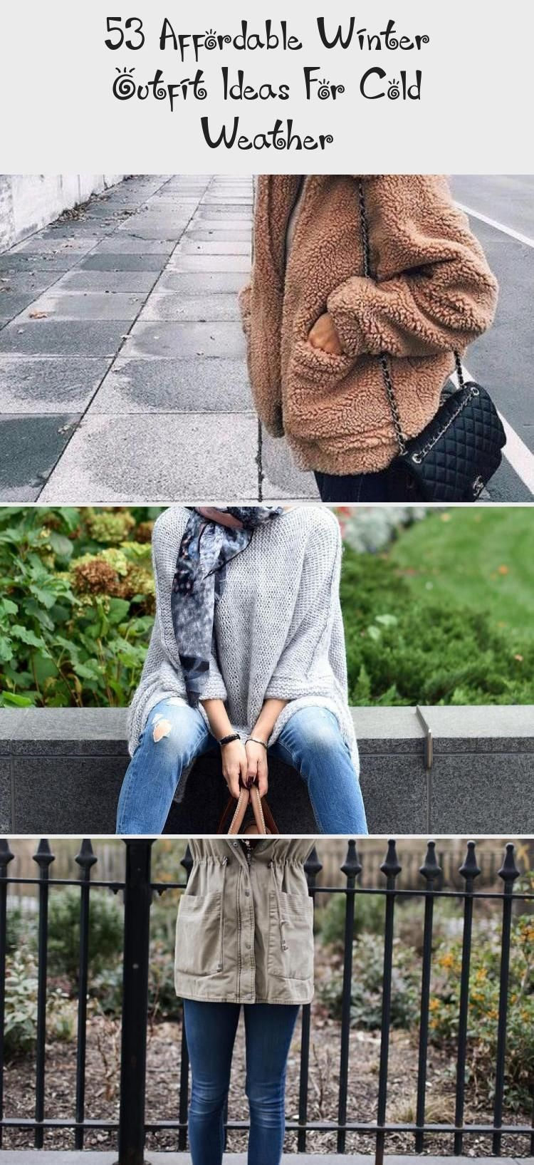 53 Affordable Winter Outfit Ideas For Cold Weather # ...