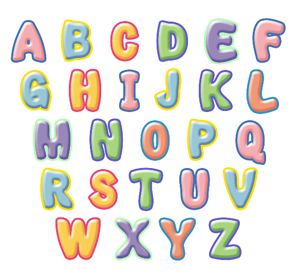 Etsy Uk Alphabet Letters