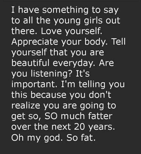 Haha Skinny vs Fat