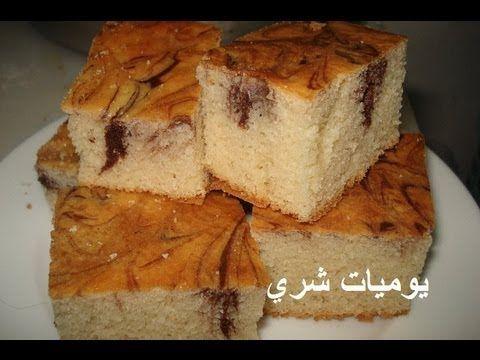 طريقة عمل الكيك العادية او الكيك المصري Food Food Videos Cooking