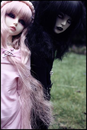 Black and Pink -3- by BlackRoosje.deviantart.com