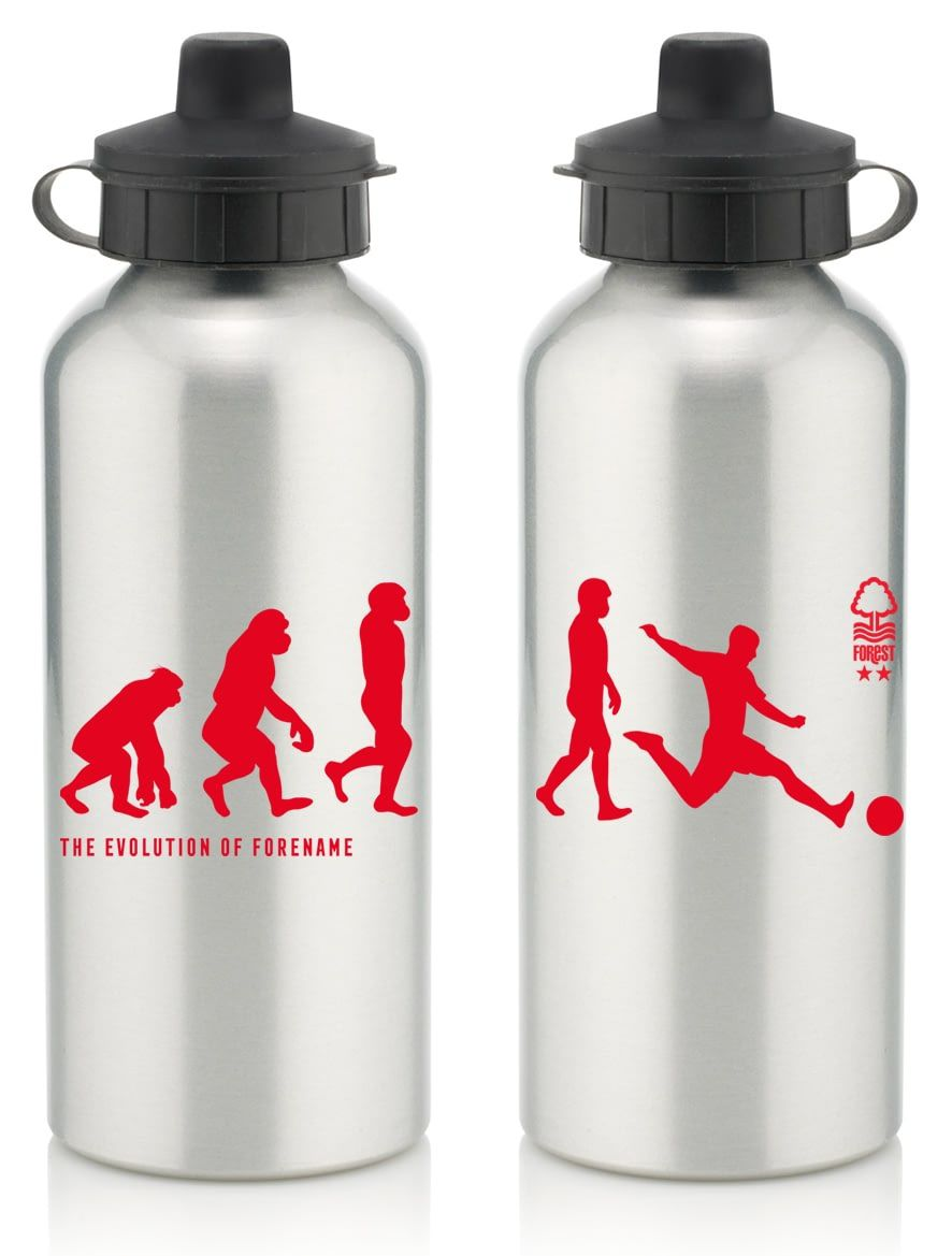 a68b4af4ef Keep yourself hydrated in style with your own personalised Nottingham  Forest FC Evolution Water Bottle.