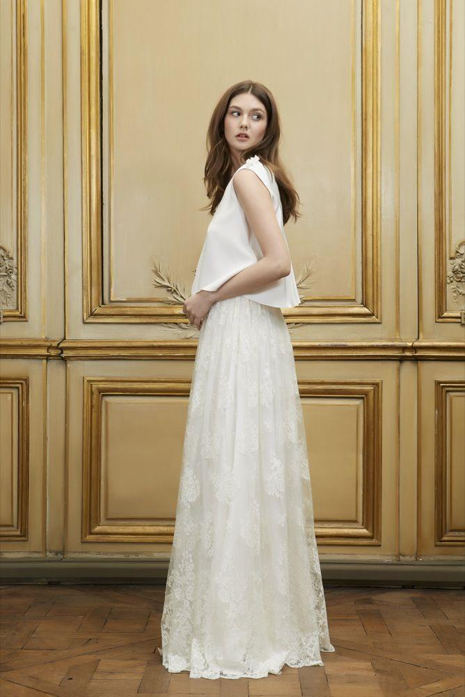 delphine manivet - robes de mariee - collection 2015 - la mariee aux