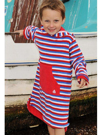 Kids' Clothing, Shoes & Accs Red Stripy Mitty James Towelling Beach Top Age 3-4 Yrs Other Kids' Clothing & Accs