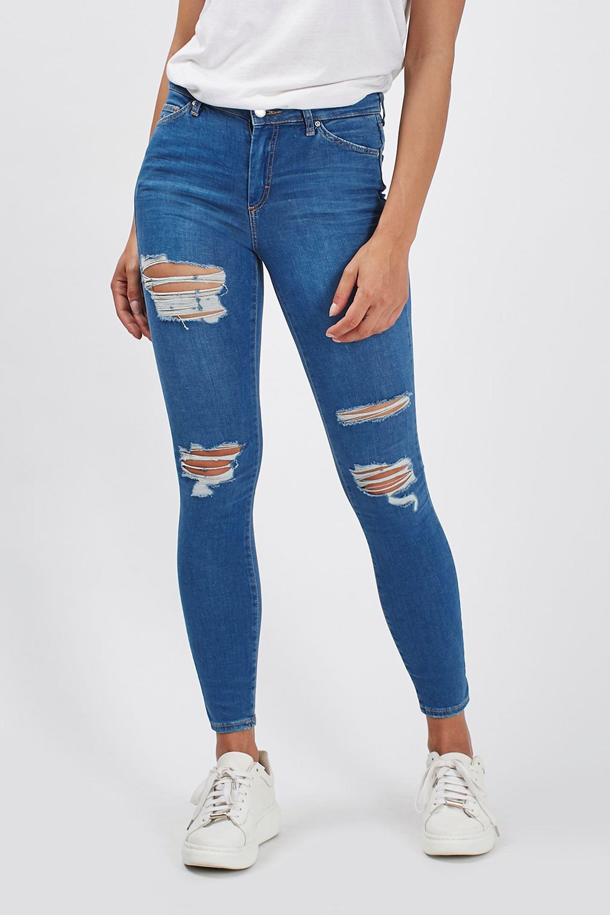 Moto Super Rip Blue Leigh Jean Diy Ripped Jeans Cute Ripped Jeans Ripped Skinny Jeans