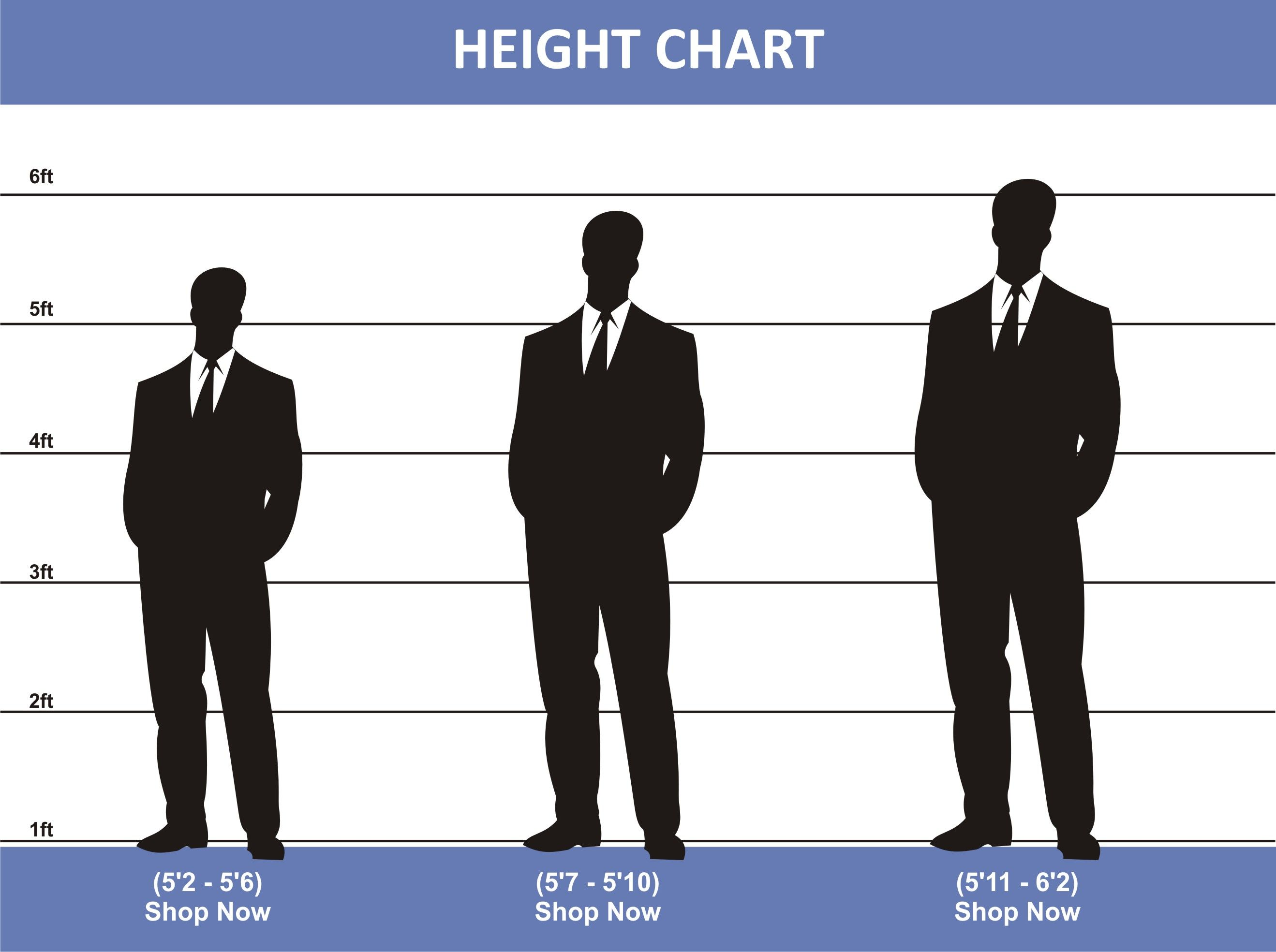 Perfect way to men's height