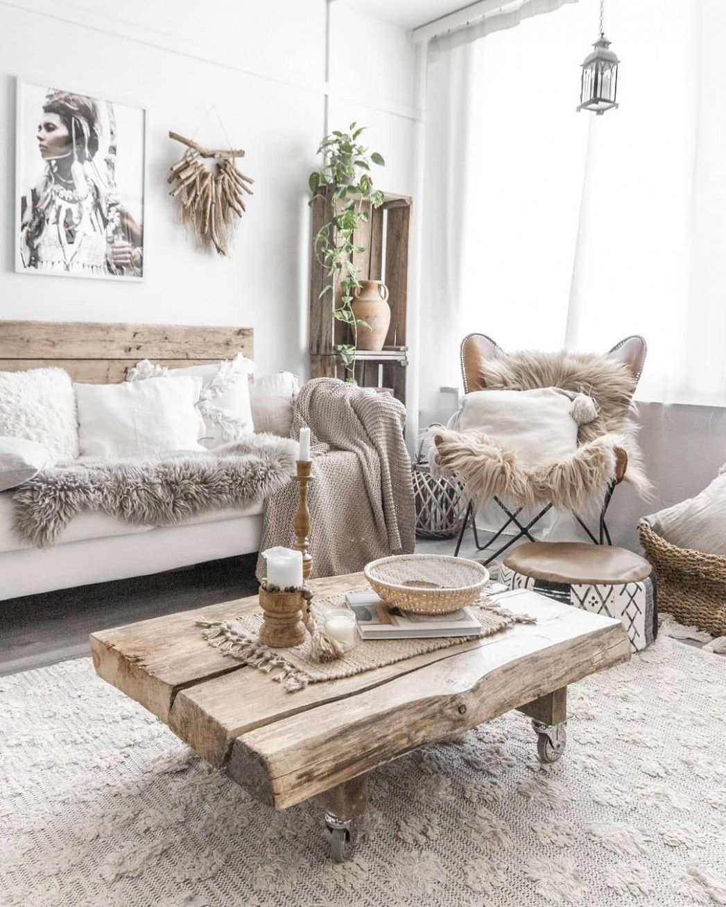 Home Decor Living Room Rustic Boho Chic Shabbychic Rustic Boho Living In 2020 Rustic Chic Living Room Boho Living Room Decor Rustic Living Room #rustic #living #room #design